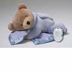 Prince Lionheart  0022s Ice Blue Slumber Bear With Silkie