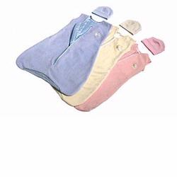 Prince Lionheart 0154 Back To Sleep Sack - Medium- Ice Blue