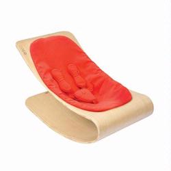 Bloom E10601-NRR Coco Bloom Stylewood With Natural Frame & Rock Red Seat Pad