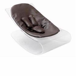 Bloom E10604-THB Coco Bloom Plexistyle With Transparent Frame & Henna Brown Seat Pad