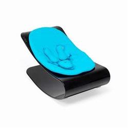 Bloom E10601-BCB Coco Bloom Plexistyle With Black Frame & Bermuda Blue Seat Pad