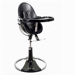 Bloom 10508BBMBL Fresco Loft High Chair With Black Frame and Midnight Black Seat Pad