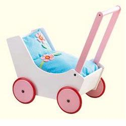 949 Haba Doll Pram- Flowers