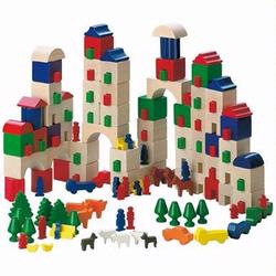 1160 Haba Little Amsterdam Building Blocks World