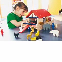 1169 Haba Noah's Ark Building Blocks World