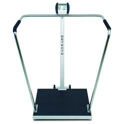 Detecto 6856 High Capacity Digital Handrail Scale, 1,000 lb x .2 lb