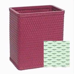 S426-HG Redmon Chelsea Collection Square Wastebasket - Herbal Green