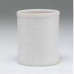R426-W Redmon Chelsea Collection Round Wastebasket - White