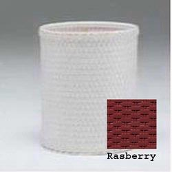 R426-RB Redmon Chelsea Collection Round Wastebasket - Rasberry