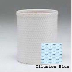 R426-IB Redmon Chelsea Collection Round Wastebasket - Illusion Blue