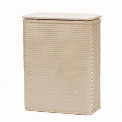 425-CR Redmon Chelsea Collection Hamper With Vinyl Lid - Cream