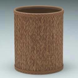 4252 Redmon Budget Series Round Wastebasket - Natural