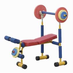 9204 Redmon Fun & Fitness Health Systems for Kids Weight Bench