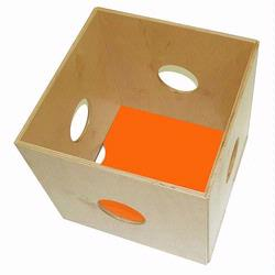 1024-O Pkolino Kube Toy Storage Unit -Orange