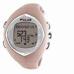 Polar F-6 Heart Rate Monitor, Female Pink Coral