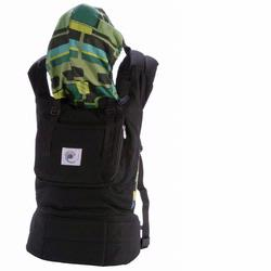 Ergo Baby BC6PG Black Baby Carrier with Retro Lining