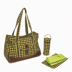 Kalencom 280 Weekender Diaper Bag - Heavenly Dots - Green
