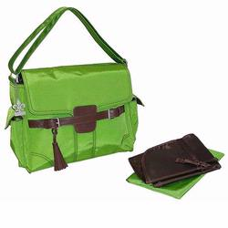 Kalencom 285 Kelly Messenger Diaper Bag - Grass