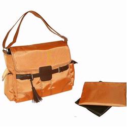 Kalencom 285 Kelly Messenger Diaper Bag - Orange