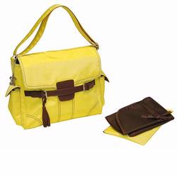 Kalencom 285 Kelly Messenger Diaper Bag - Yellow