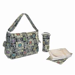 Kalencom 2960 Laminated Buckle Diaper Bag - Orient Express