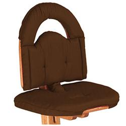 Svan Chair Cushion, Chocolate
