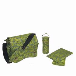 Kalencom 2962 Sam's Messenger Diaper Bag - Green Ripstop