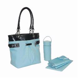 Kalencom 2965 Ultimate Tote Diaper Bag - Baby Blue