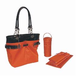 Kalencom 2965 Ultimate Tote Diaper Bag - Orange