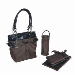 Kalencom 2968 Midi Ultimate Tote Diaper Bag - Chocolate Nylon