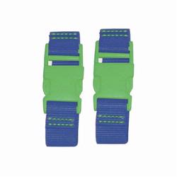 Kalencom 1735 Stroller Straps - Royal - Apple Clips