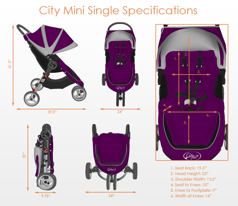 Baby Jogger City Mini Strollers Free Shipping