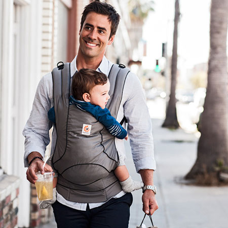 84a8566c50f Stowaway. The Ergobaby Urban Chic Carrier ...