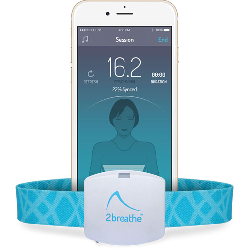 2breathe Sleep Aid Monitor Smart Device