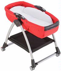 Peg Perego Skate Bassinet Stand Black And Silver Stand