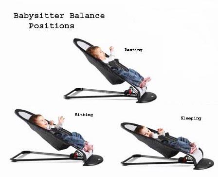 BabyBjorn Baby Sitter, Baby Bjorn Baby Sitter Positions