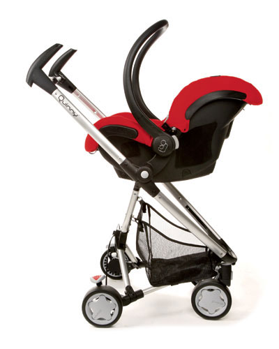 Quinny Zapp Xtra Strollers with car seat
