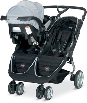 B-Agile with B-Safe Car Seat