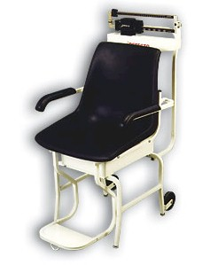 The Detecto 475 mechanical medical chair scale is reliably built for patients with special health care problems. Detecto chair scales boast sturdy construction combined with time-saving design features in the most functional chair scales available anywhere. Complete with heavy-duty understructure, these medical scales come fully assembled and ready to use.
