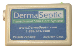 DermaSeptic Skin Healing Device - Heals cold sores, herpes and fever blisters