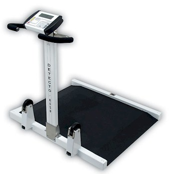 Detecto 6550 digital wheelchair scale
