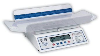 This Detecto baby scale is designed to be used with utmost ease, Model 6730 digital baby scales can weigh even the most active babies.