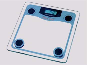 DigiWeigh DW-68 digital bathroom scales