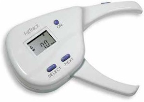 Easily monitor your body fat levels with digital accuracy with AccuMeasure FatTrack digital fat calipers!