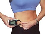 FatTrack Pro digital body fat measurment system