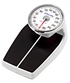 HealthOMeter 160LB Large Dial Mechanical Bathroom Scale