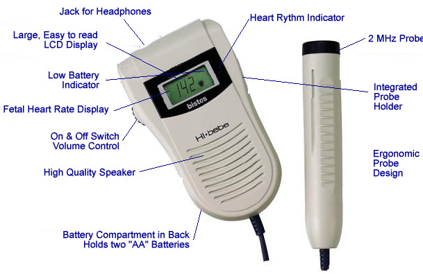 Baby beat fetal heart monitors