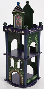 Levels of Discovery Time to Read Revolving Bookcase - Model LOD20034