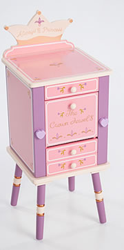 Levels of Discovery Princess Jewelry Cabinet - Model LOD20043