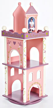 Levels of Discovery Princess Revolving Bookcase - Model LOD20044